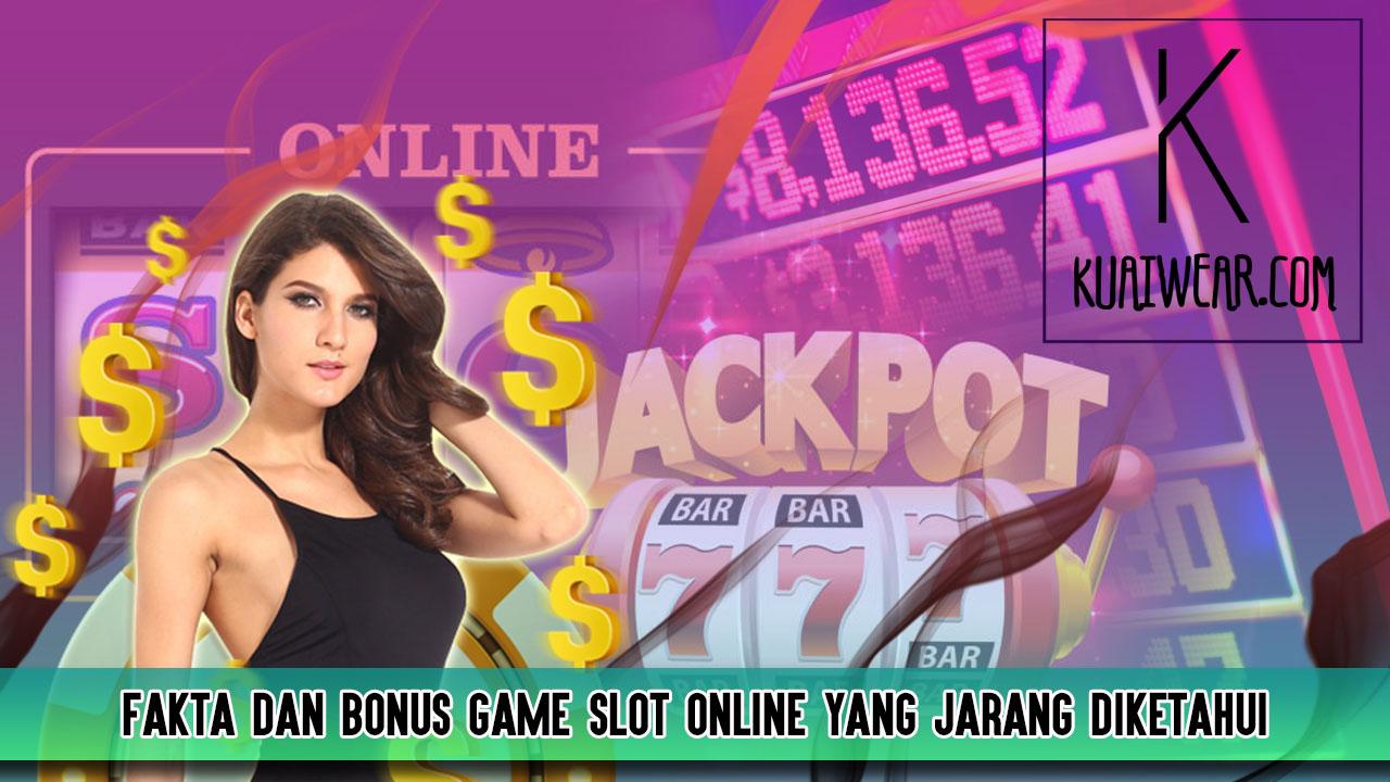 Fakta dan Bonus Game Slot Online yang Jarang Diketahui